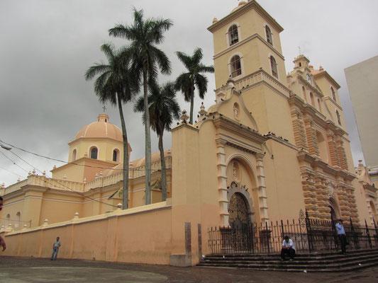 Die renovierte Kathedrale aus dem 18. Jahrhundert.