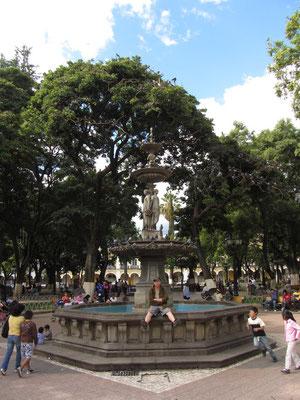 Plaza 14 de Septiembre.