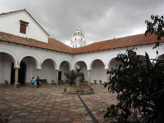 Der Innenhof des Casa de la Libertad.