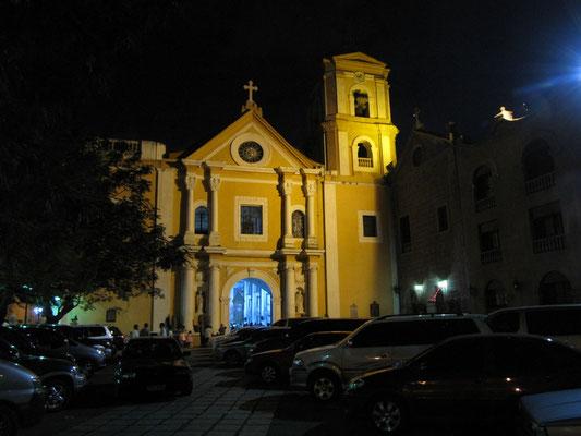 Die Kirche San Agustin mit angrenzendem Kloster ist Uneso-Weltkulturerbe.