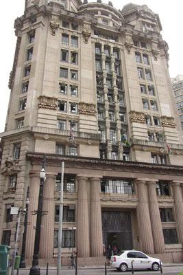 Auch das ist Sao Paulo. Eben Weltstadt mit Historie, auch architektonisch.