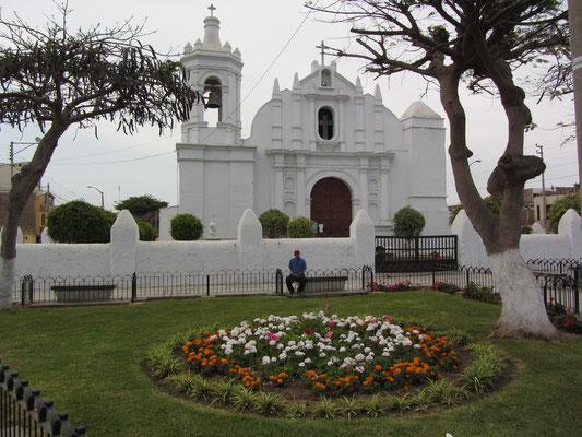Eine Kirche außerhalb Trujillos.
