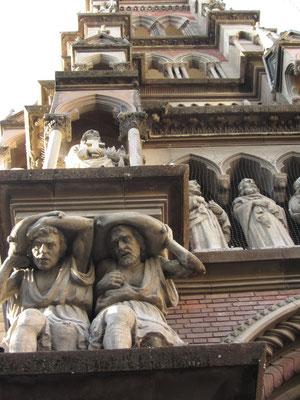 Frontansicht der Sagrado Corazon.