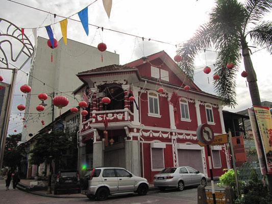 Eckhaus auf der Jalan Tan Hiok Nee.