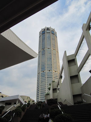 Der Komtar Turm. Hier ist u.a. die Zentrale der Umno-Partei untergebracht.
