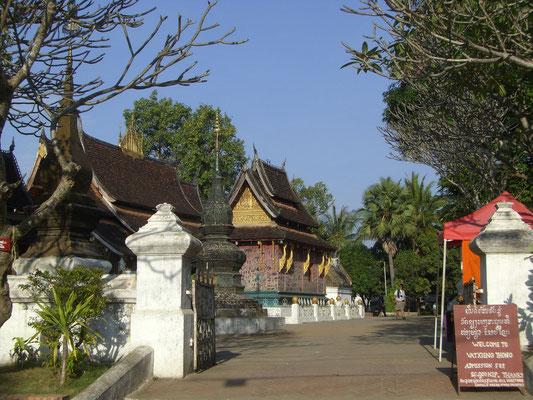 Wat Xieng Thong - der berühmteste Tempel der heiligen Stadt.