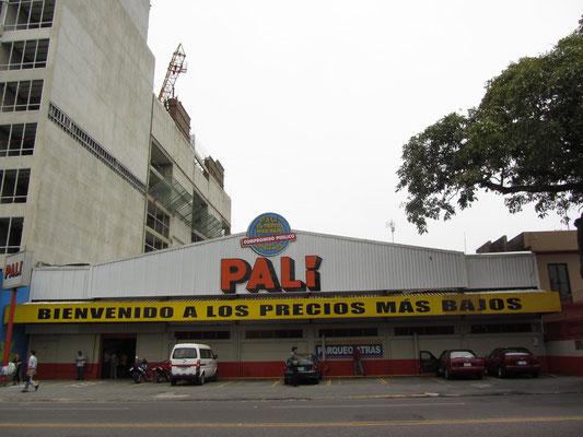 Pali, der Supermarkt unseres Vertrauens.