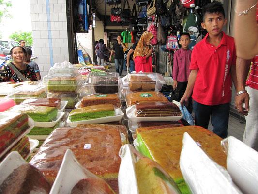Malayische Süßwaren. (Jalan Gambier)