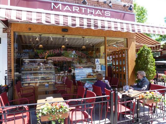 Martha's Country Bakery in Astoria, Queens. In der Nähe haben wir gewohnt.