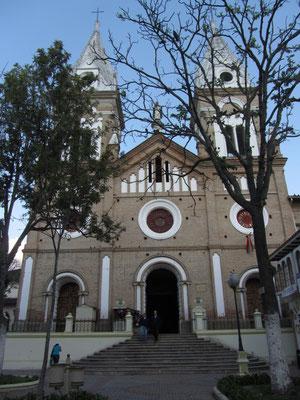 Iglesia de Santa Domingo. Die schönste Kirche Lojas.