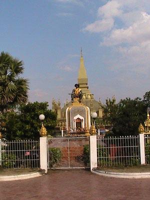 Statue von König Sai Setthathirat.