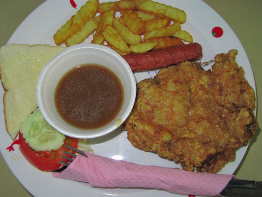 Chicken Chop Set.