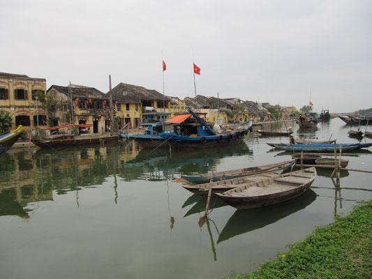 Der Thu Bon Fluss.