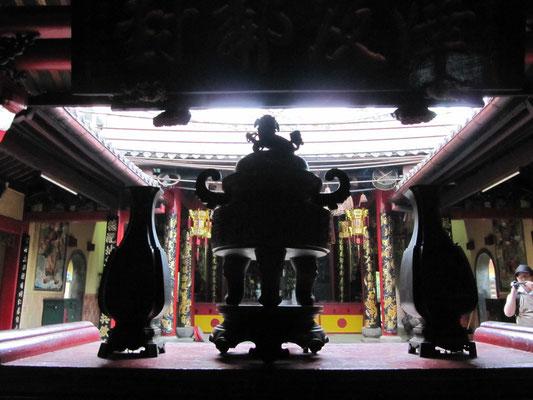 Ein Tempel in Chinatown.