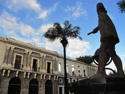 Fort Santiago. In seinen Mauern wurde der Nationalheld Jose Rizal gefangengehalten um auf seine Hinrichtung zu warten.