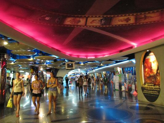 Unterhaltungsebene im MBK Shopping Mall.