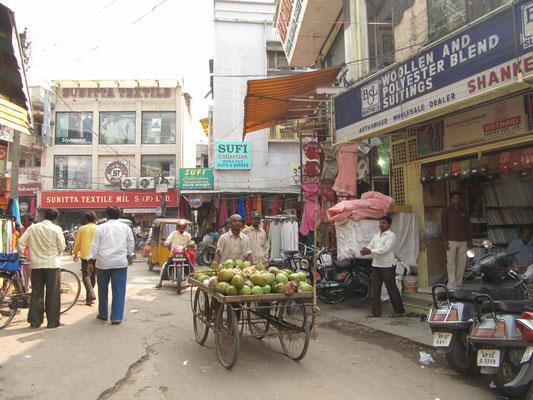 In den Straßen in Hyderabad.