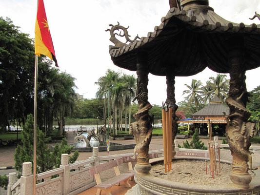 Der buddisthische Tua Pek Kong Tempel ist Kuchings ältester Tempel.