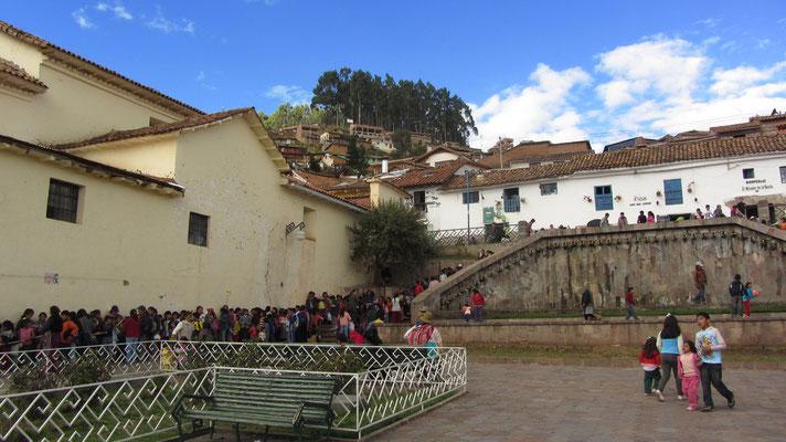 Auf dem Plaza San Blas.