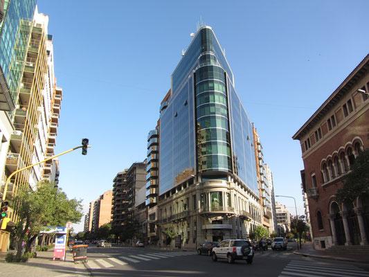 Cordobas modernes Gesicht, die Ecipsa Tower, der Sitz von Motorola.