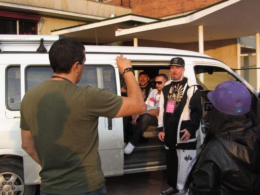 Freestyle-Rap eines B-Class-Gangsters findet Aufmerksamkeit.