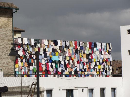 Größter Wäscheständer der Welt.