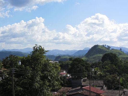 Blick von einem der Türme des Mirador el Cuartel.