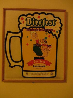Jedes Frühjahr veranstaltet die Brauerei das Bierfest Kunstmann Valdivia.