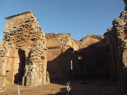 Heute noch sehenswert sind die Überreste der von Juan Bautista Prímoli geplanten Kirche mit dem Glockenturm, dem Taufbecken, der Kanzel und der Sakristei.