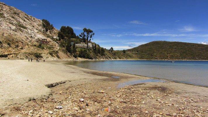 Cha'lla selbst bietet zwar keine Sehenswürdigkeiten der Inka, hat jedoch eine sehr schöne Bucht mit Sandstrand.