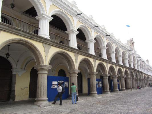 Der spanische Regierungspalast bis 1773 am Zentralpark.