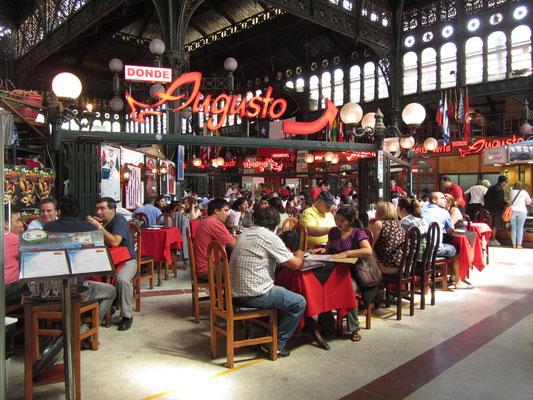 Im Mercado Central.