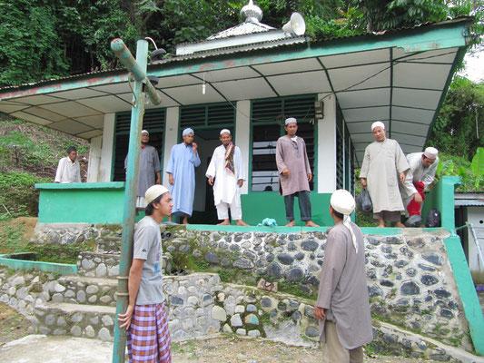 Das religiöse Zentrum Bukit Lawangs.
