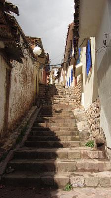 Cusco ist auch hoch und runter, hoch und runter.