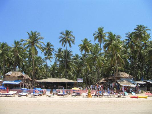 Ein Teil der Strandfassade.
