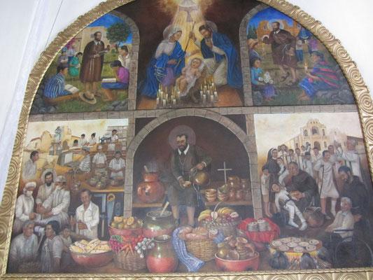 In der Iglesia de San Pedro.