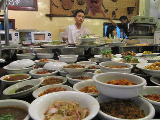 "Schmackhaftes im""Feel Myanmar Food""-Restaurant."