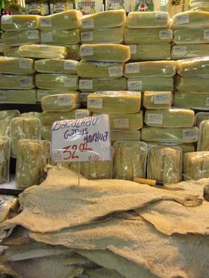 Bacalhau und Käse. (Mercado Central)