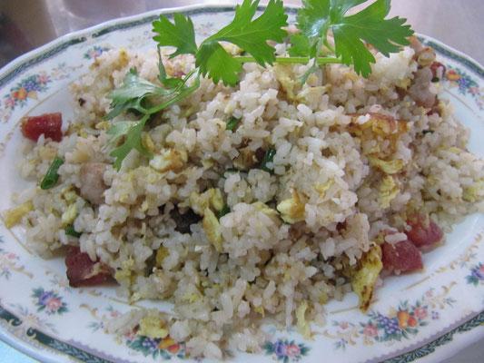 Gebratener Reis nach chinesischer Art.