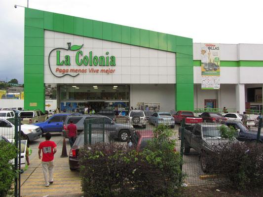 Ein Supermarkt.