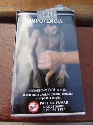 Impotenz: Die größte Angst eines jeden Brasilianers. Mit dem Rauchen hören trotzdem die wenigsten auf.