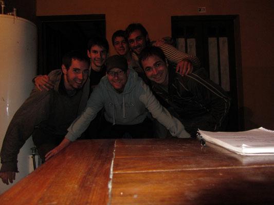 Ein schöner Abend mit 5 Argentiniern.