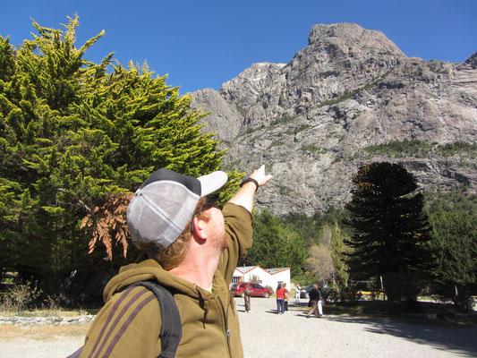 Der Beginn unseres großartigen Tagesausflugs zum Parque Nacional Nahuel Huapi.