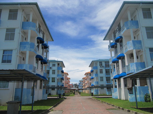 Unser Appartementkomplex.