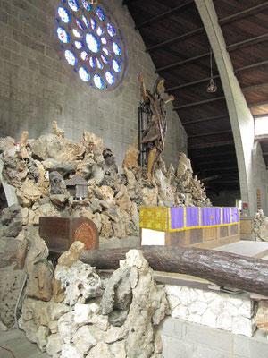 Unsere Dorfkirche der Heiligen Maria der Jungfrau.