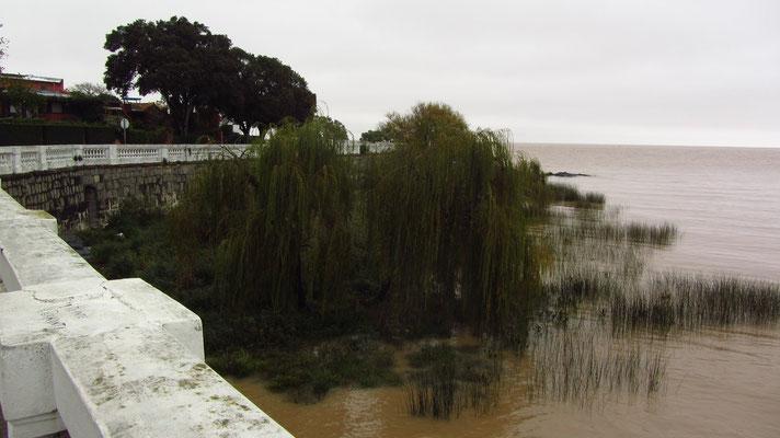 An der Uferpromenade.