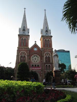 Die Kathedrale Notre-Dame.