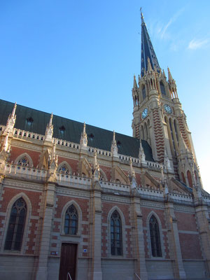 Die Kathedrale von San Isidro.