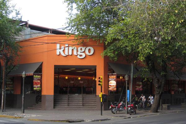 Fastfood gibt's bei Kingo.