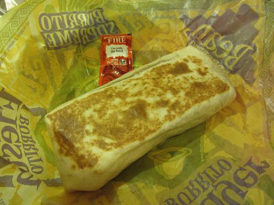 Taco Bell Burrito.